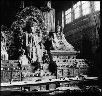 Main altar from Northern monastery