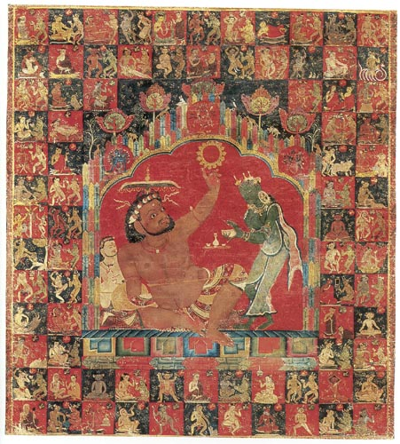 Mahasiddha Virupa and Indian Mahasiddhas